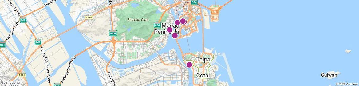 Points of Interest - Macau