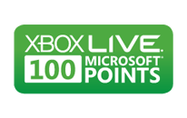 100 Microsoft Points for Xbox 360