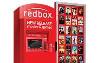 One-day DVD rental at a Redbox kiosk
