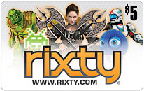 $5 Rixty Universal Game Card for World of Tanks, CrossFire and hundreds more