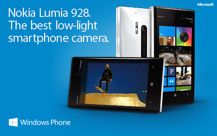 10 Sweepstakes Entries: 5 Winners - Nokia Lumia 928