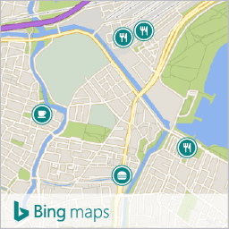 aerial view bing maps