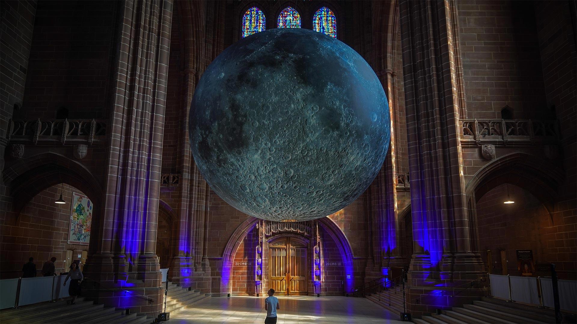 「月の博物館」イギリス, リバプール (© Christopher Furlong/Getty Images)