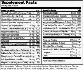 ingredients of conzace multivitamins for women picture 10