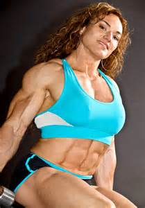 big female muscle picture 7