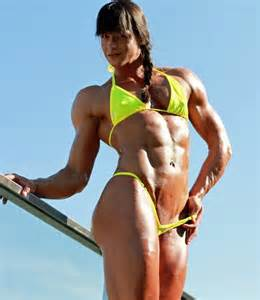 female muscle calves picture 7