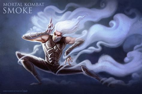 mortal kombat what is color is smoke's hair picture 10