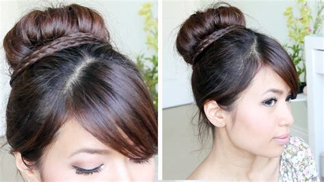 african hair buns with sock picture 7