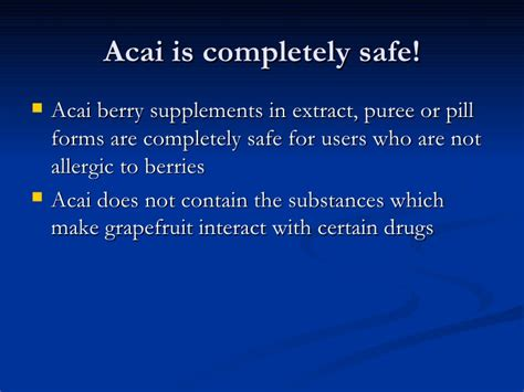 acai berry side effects picture 7
