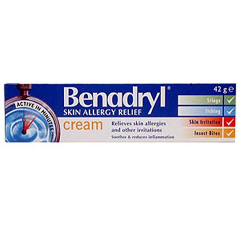 will benadryl cream applied to the skin make picture 1