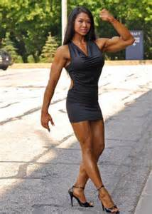 female muscle asian picture 1