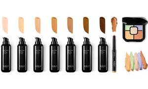 make up skin tones swatches picture 7