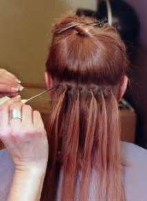how are hair extensions done picture 13