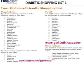 grocery list for diabetics picture 3