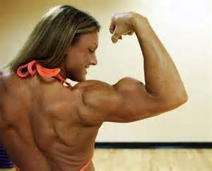 female muscle worship biceps feel ko picture 2