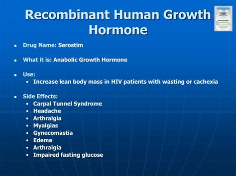 human growth hormone (recombinant) 30x picture 1