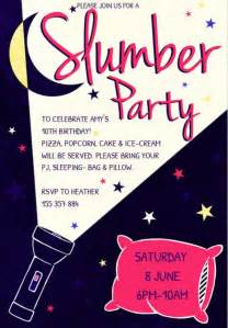 free printable sleepover party invitation picture 11