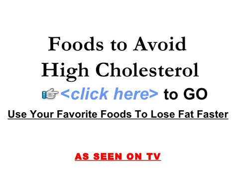 Food avoid high cholesterol picture 17