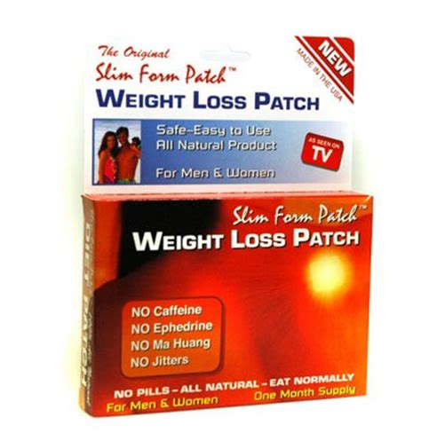 slim form weight loss patch picture 1