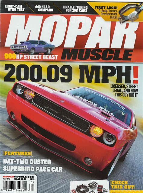 Mopar muscle magazine picture 6