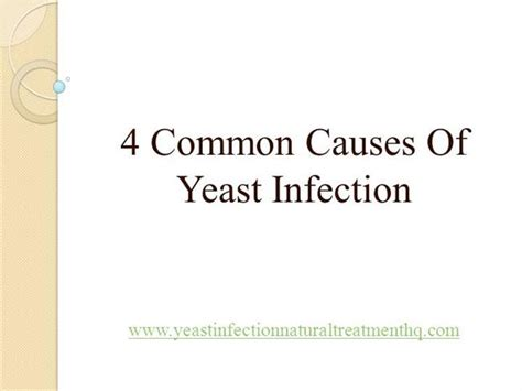 causes of yeast infections picture 1