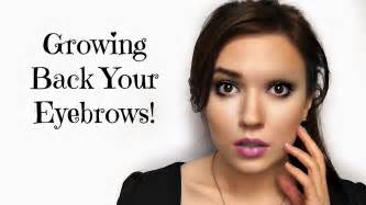stop eyebrows growing back picture 1