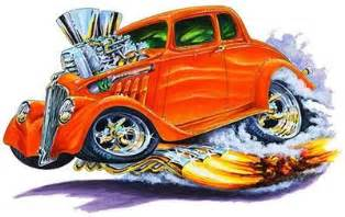 muscle car art picture 10