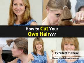 how to cut your hair picture 1