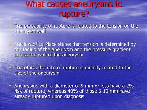 Aneurysm warning bleed blood pressure 80 50 picture 6