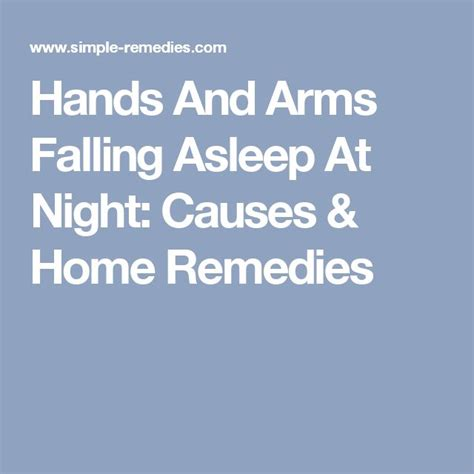 arms asleep at night picture 1
