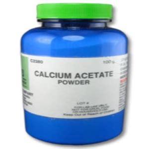calcium acetate picture 17