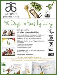 arbonne 30 day support guide picture 10