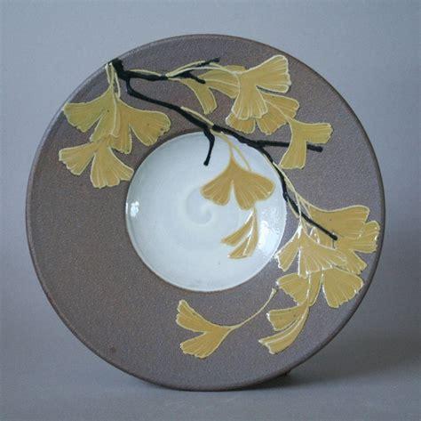 ginkgo ceramic plate picture 13