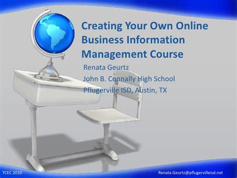 online business management course picture 1