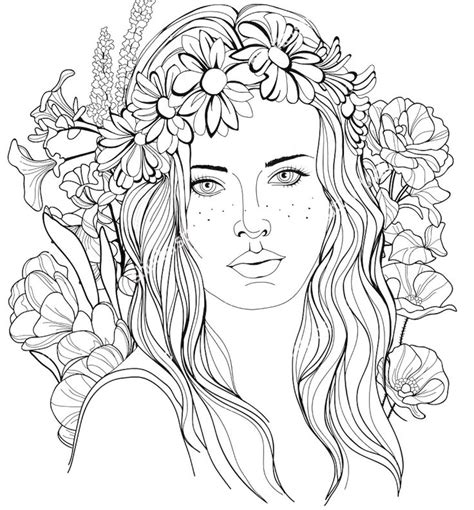 coloring pages on hair picture 11