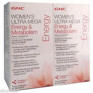 gnc women`s ultra mega energy and metabolism 30 picture 9