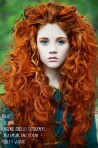 S curl red hair picture 9