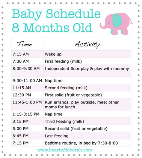 a sleep schedule for your 3 month old picture 8