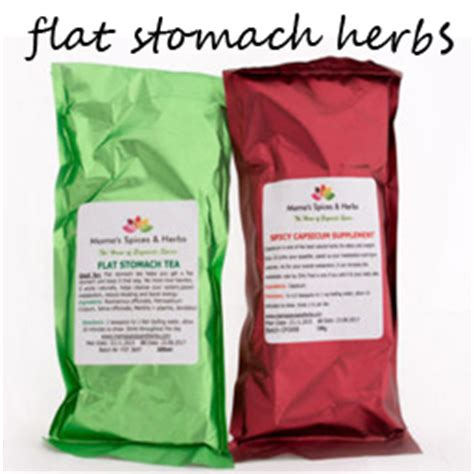 flat stomach herbs picture 6
