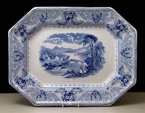 cobalt blue thistle pattern plates picture 6