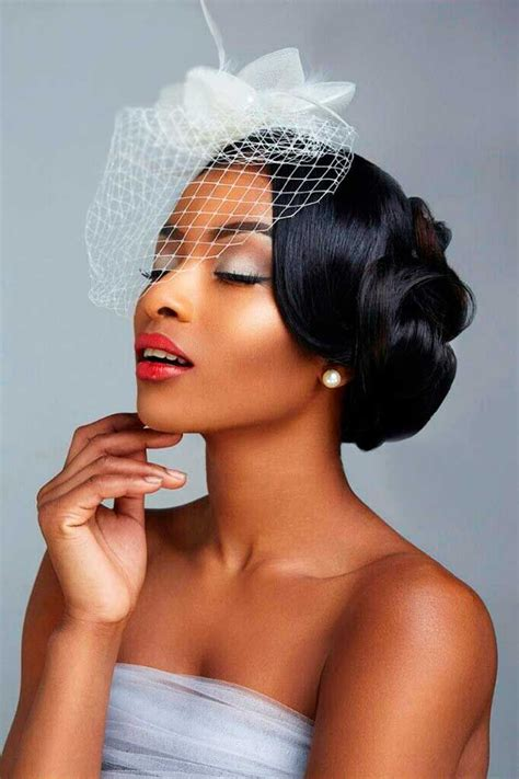 bridal hairstyles for black hair picture 1