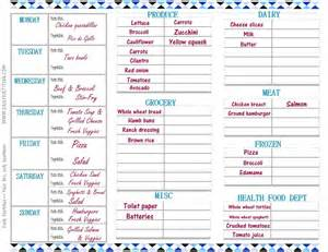 free diet plans with shopping list picture 5