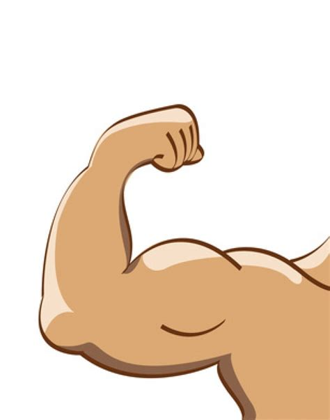 cartoon muscle picture 2