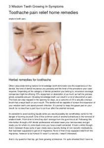 wisdom tooth pain relief picture 2