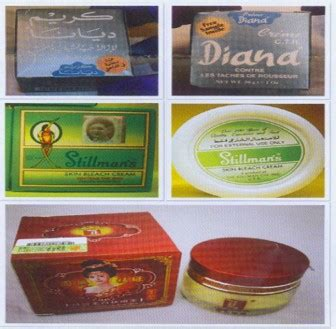 whitening soap and cream in mercury drugstore picture 1