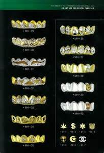 all gold and whitegold teeth picture 13