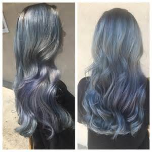 blue dye for gray hair picture 6