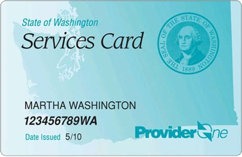 washington health card picture 1