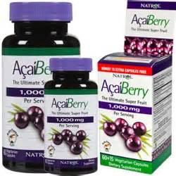 fruitxotic acai berry fruit juice detox energy capsules picture 1