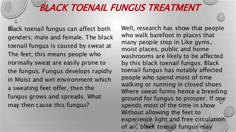 toenails with black fungus underthem picture 3